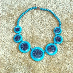 2/15$ Large Turquoise Statement Necklace
